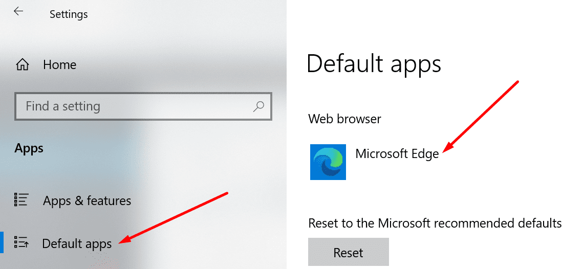 change default browser windows 10