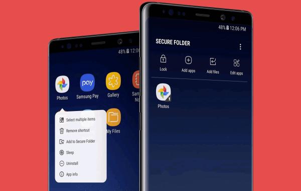 Use Samsung Secure Folder Hero