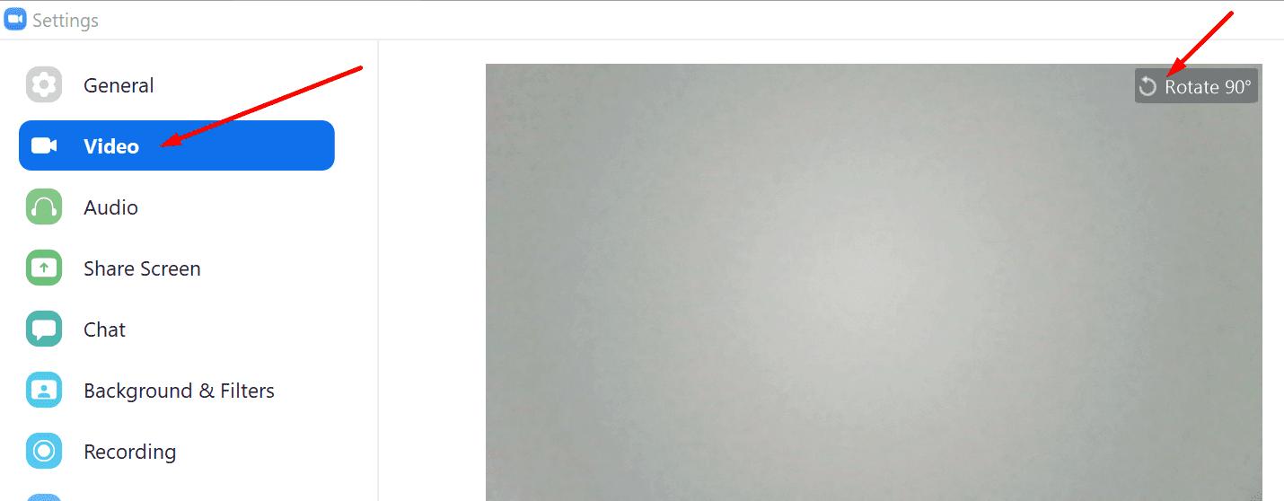 rotate zoom camera