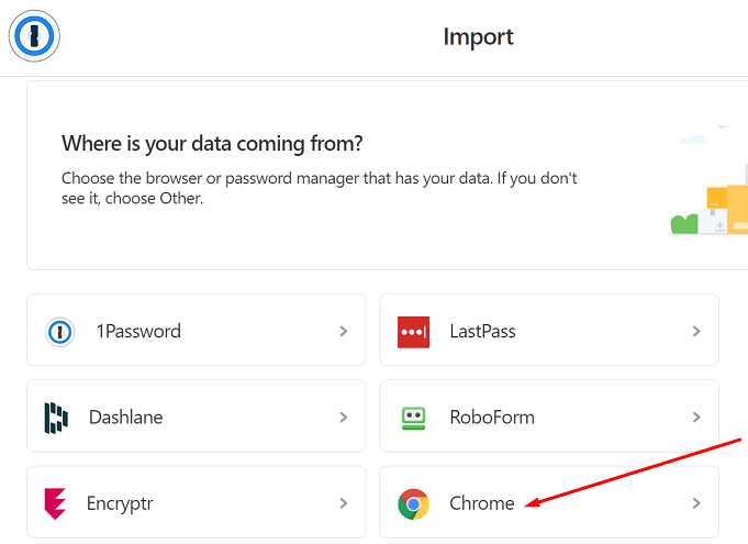 1password where is data coming from