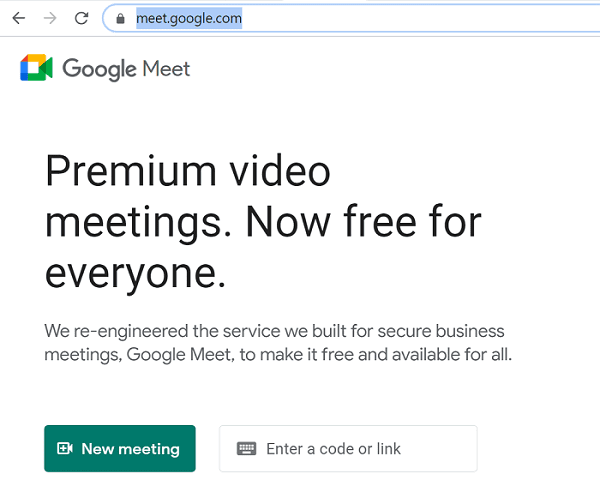 google meet online
