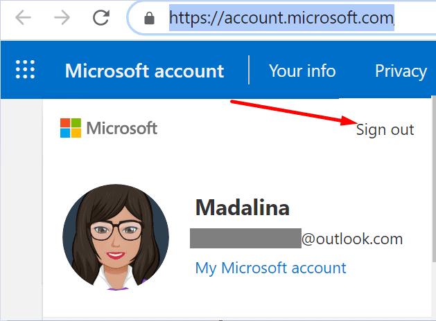 microsoft account disconnect