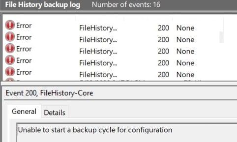 Windows-10-File-History-Error-200