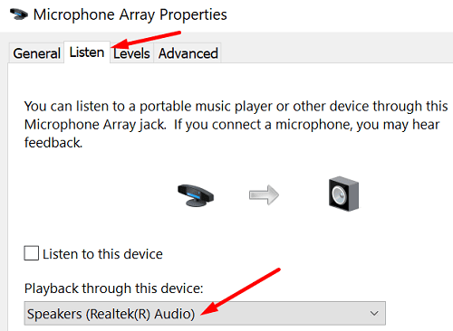 microphone-playback-settings