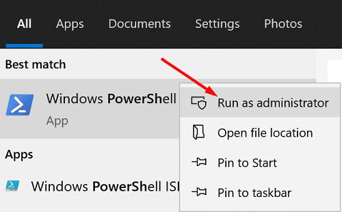 run-powershell-as-admin