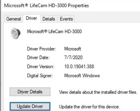 update-LifeCam-driver-pc
