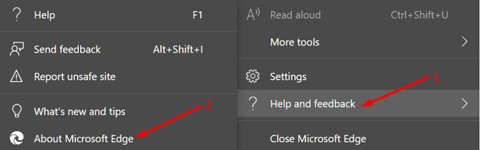 update edge browser version
