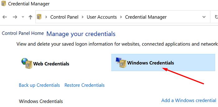 windows-credentials
