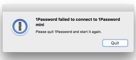 1Password-Failed-to-Connect-to-1Password-Mini-error