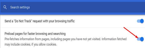 chrome-preload-pages