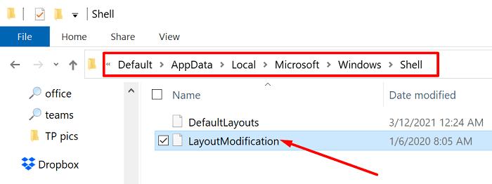 shell-layout-modification-xml-file-windows-10
