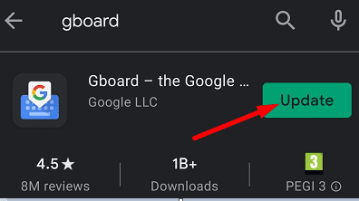 update-gboard-android