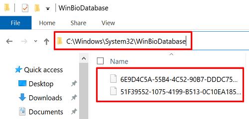 winbiodatabase-windows-hello