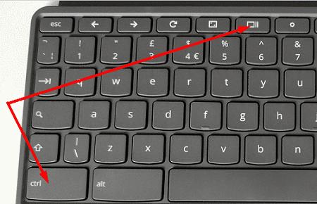 Ctrl-and-Show-windows-keys-chromebook