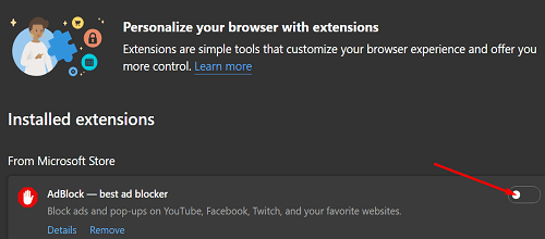 disable-extensions-edge-browser