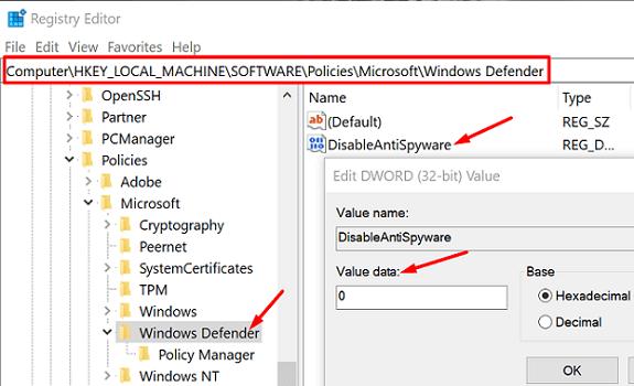 disableantispyware-windows-security