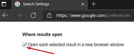 google-search-where-results-open