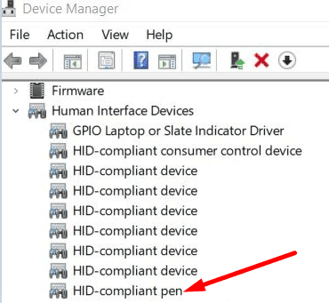 hid-compliant-pen-device-manager