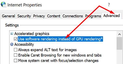 internet-properties-enable-software-rendering