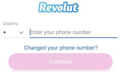 log-in-to-revolut-app