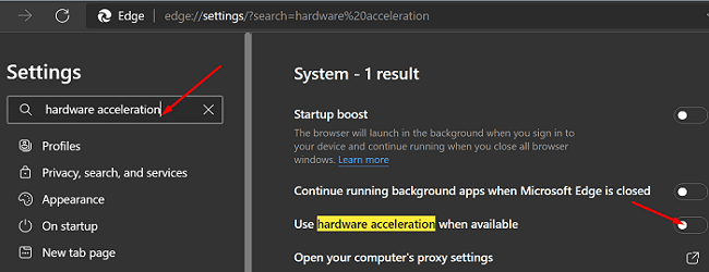 microsoft-edge-disable-hardware-acceleration
