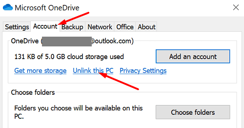 onedrive-unlink-this-PC