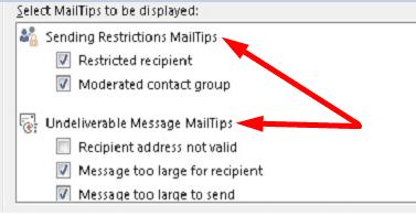 outlook-mailtips-settings