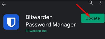 update-bitwarden-password-manager-android
