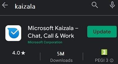 update-kaizala-app
