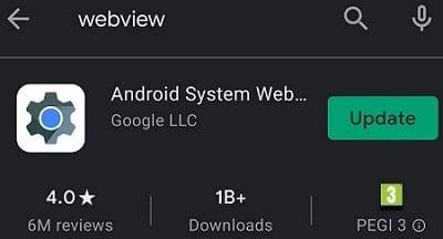 update-webview-android