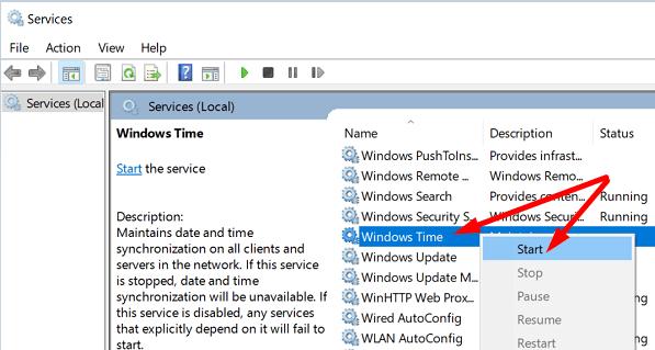 windows-time-service