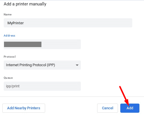 Add-printer-manually-chromebook