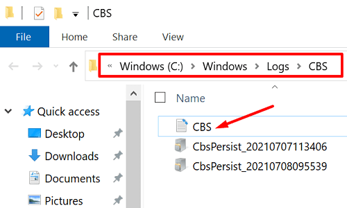 CBS-log-file-windows-10