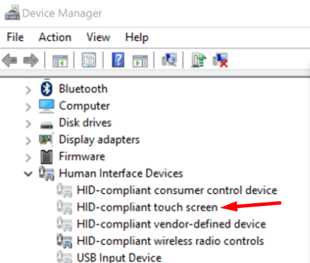 HID-Compliant-Touch-Screen-driver