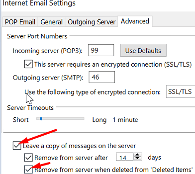 Remove-delete-emails-from-server-outlook
