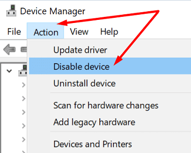 device-manager-action-menu