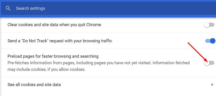 disable-preload-pages-google-chrome