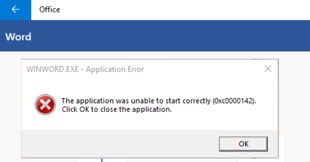 error-0xc0000142-microsoft-office