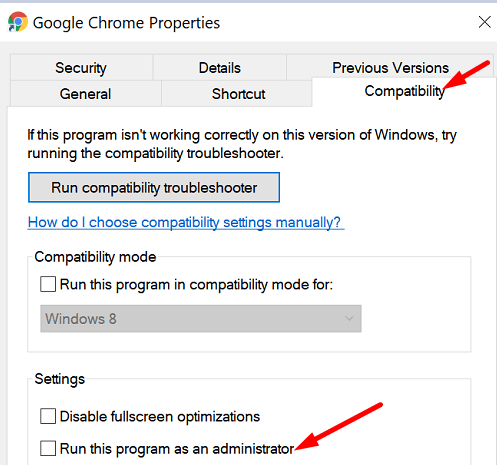 run-google-chrome-with-admin-rights