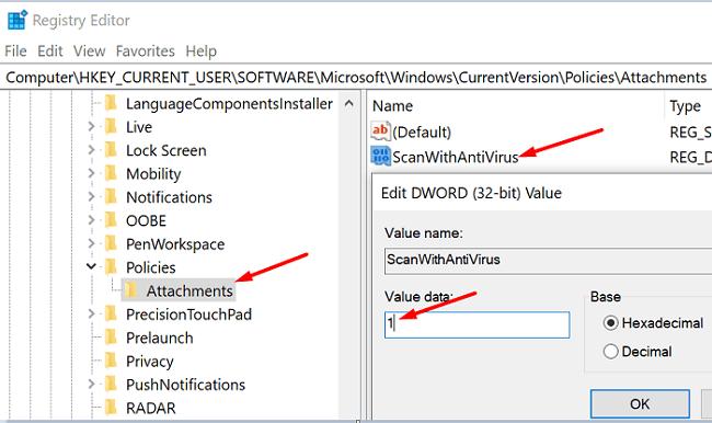 scanwithantivirus-registry-editor
