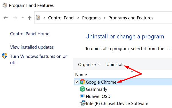 uninstall-chrome-windows-10