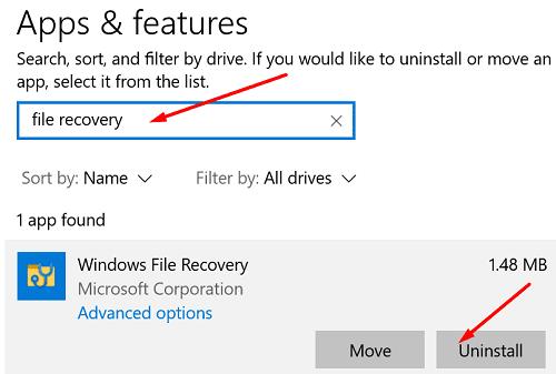 uninstall-windows-file-recovery