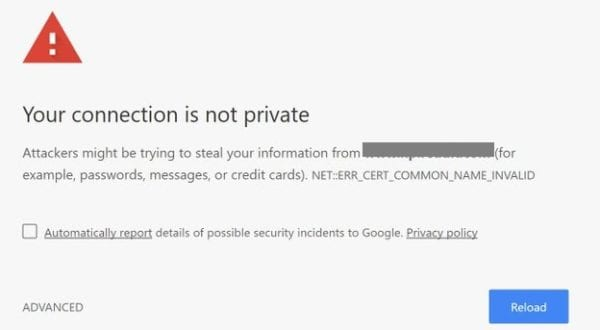your-connection-is-not-private-chromebook