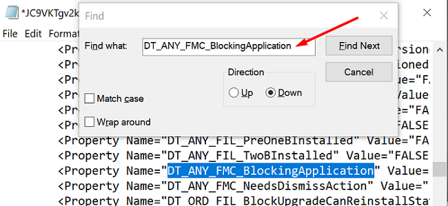 DT-ANY-FMC-BlockingApplication