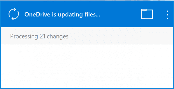Onedrive-Stuck-Processing-Changes
