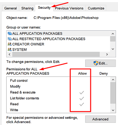 adobe-photoshop-permissions-windows