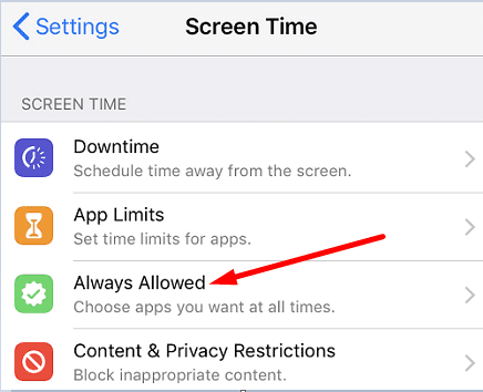 always-allowed-screen-time-iphone