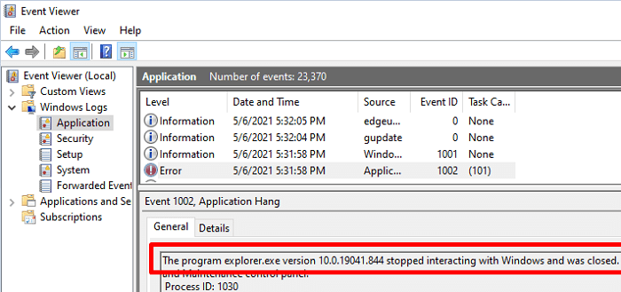 explorer.exe-version-stopped-interacting-with-windows