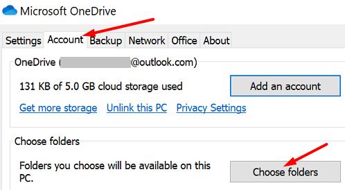 onedrive-choose-folders