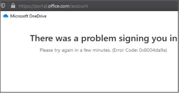 onedrive-error-code-0x8004da9a
